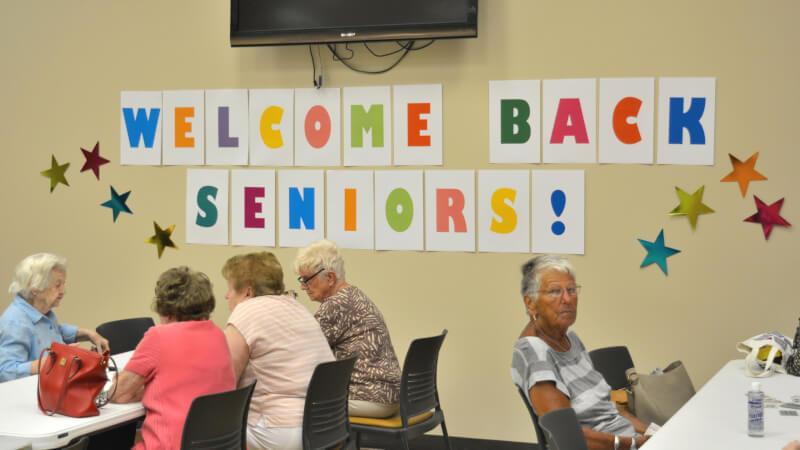 Bingo marks the return of Senior activities at Orland Township