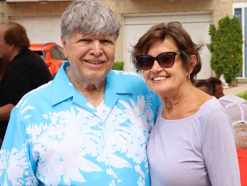 Ken Getty celebrates his 80th birthday