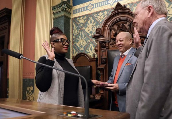 Michigan state legislator Cynthia Neeley courtesy of the michigan Democratic Organization