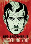Image from author George Orwell's dystopian 1949 novel Nineteen Eighty-Four. Image courtesy of Wikipedia