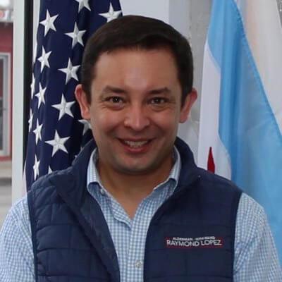 Chicago Alderman Raymond Lopez courtesy of Twitter