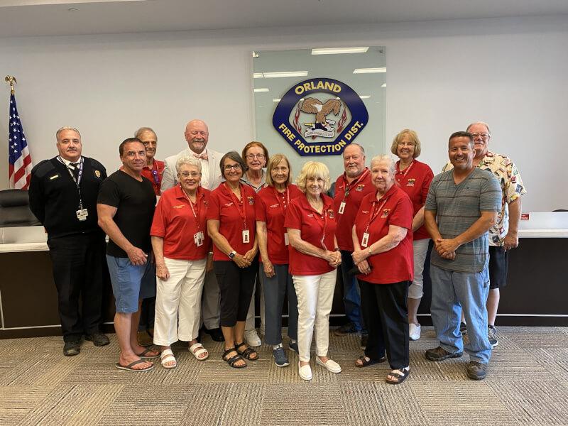 Orland Fire District Senior Advisory Council presents achievements