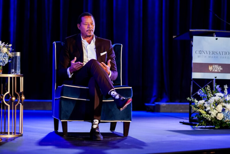 Terrence Howard Was the Featured GuestforConversations with Mark VargasEvent