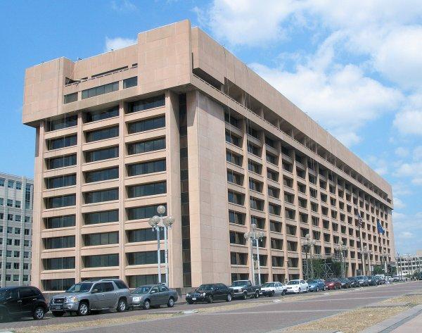 USPS headquarters at Lenfant Plaza courtesy of Wikipedia