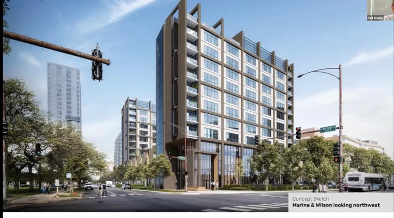LakeView Towers Association members protest exclusion from 46th Ward public meeting