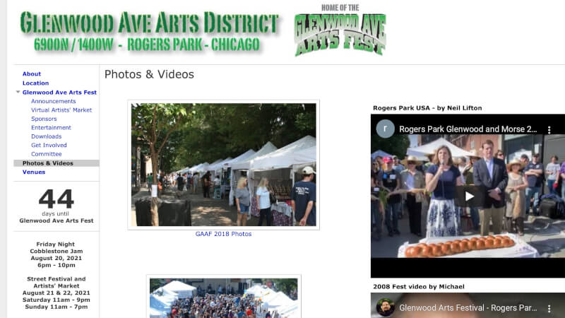 Glenwood Ave Arts District Festival Aug 20 – 22
