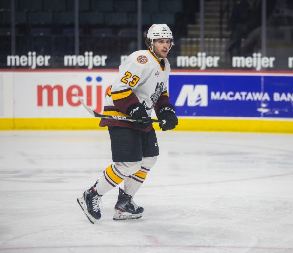 Chicago Wolves forward David Gust. Photo courtesy of the Chicago Wolves