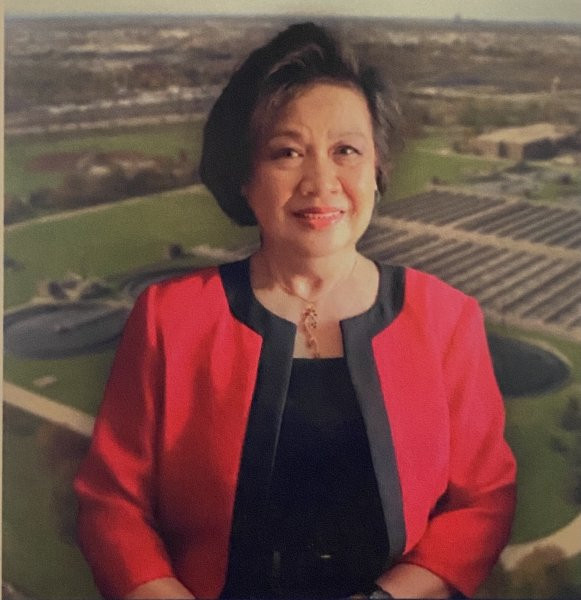 Cristina Nonato, Philipine American Activists, candidate for Metropolitan Water Reclamation District (MWRD) in the March 15, 2022 Democratic Primary election