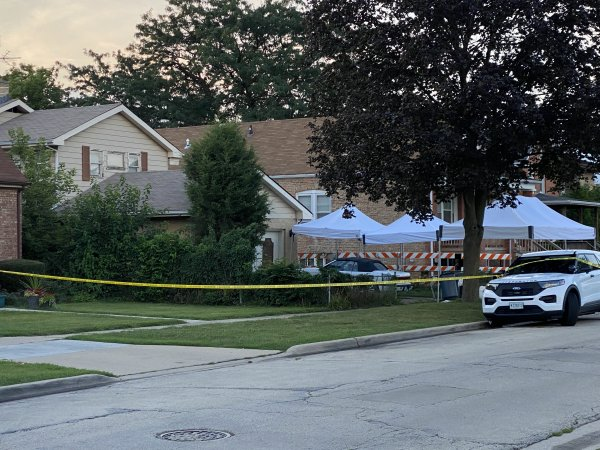 Lyons home where police said two brothers buried their mother and sister in their back yard, at the 3900 block of Center Avenue. Photo courtesy of Ray Hanaia