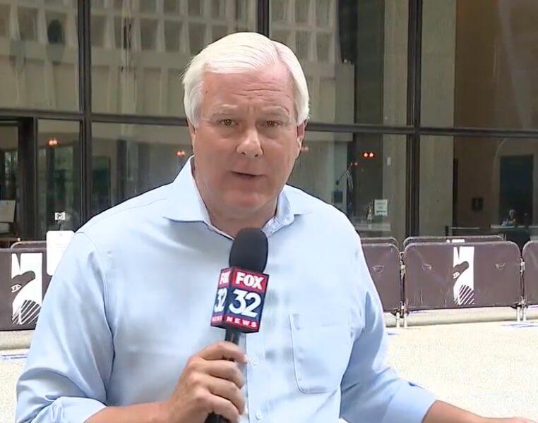 Fox 32 TV News reporter Dane Placko