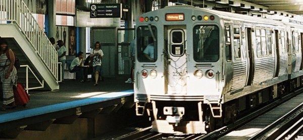 Chicago Transit Authority Scene courtesy of the CTA