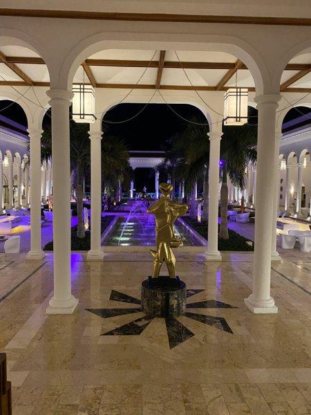 Main entrance foyer at the Grand Reserve Paradisus Palma Real. Photo courtesy of Ray Hanania