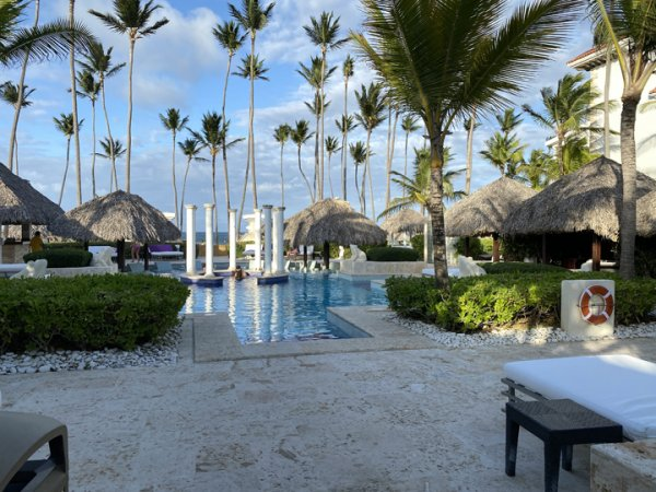 View from our cabana at the private pool at the Grand Reserve Paradisus Palma Real. Photo courtesy of Ray Hanania