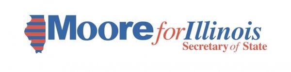 David Moore for Illinois Secretary of State logo