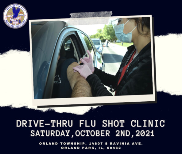 Orland Township Health Clinic offers flu shots Saturday Oct. 2