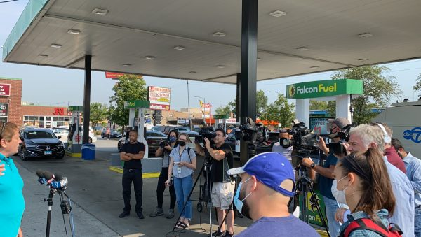 American Arab Chamber of Commerce organizes press conference Sept. 13 to fight for the rights of small business owners after the City of Chicago targeted Arab, Asian and Muslim small businesses for closure.