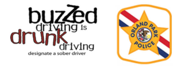Orland Park Police Buzzed Driving is Drunk Driving campaign logo
