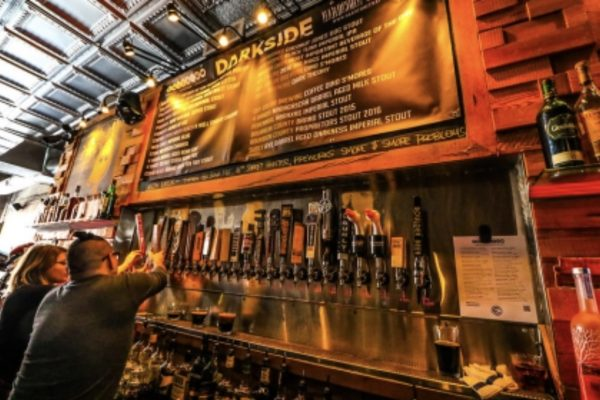 Craft Beers on Tap at Emporium's Wicker Park location. (Photo Courtesy of Emporium Arcade Bar)